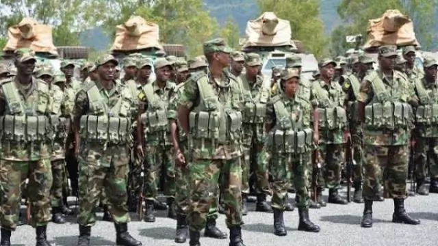 Kenya and Ethiopian forces in serious face off