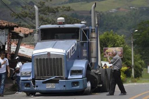 Paro Camionero: 3500 niños varados