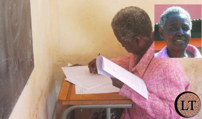 Woman, 73, sits for grade 12 examinations, eyes university entry