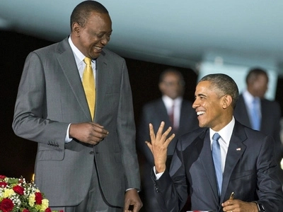 Uhuru Kenyatta's photos with global leaders