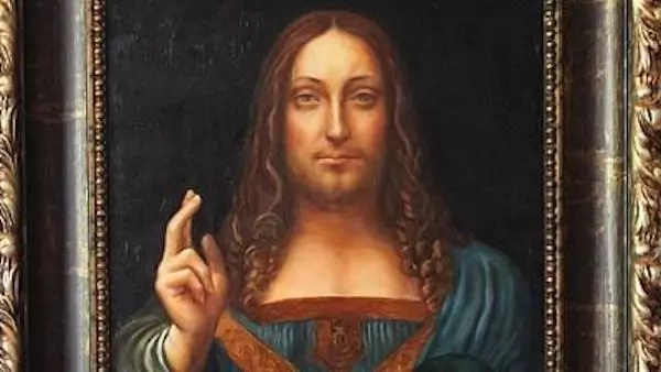 The rare portrait of Jesus Christ dating back to 1500. Photo: AfricaNews