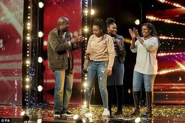 Girl, 16, with African roots dazzles Britain's Got Talent show in semi-final performance