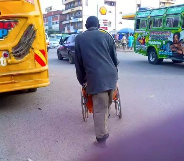 Fake Nairobi street beggar exposed (photos)