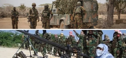 Maafisa wa KDF wakabiliana vikali na magaidi katika ngome kuu ya al-Shabaab