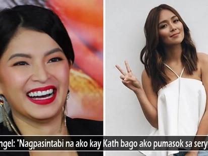 Wala talaga siyang ere sa katawan! Angel Locsin reveals making 'pasintabi' to Kathryn Bernardo before returning to La Luna Sangre