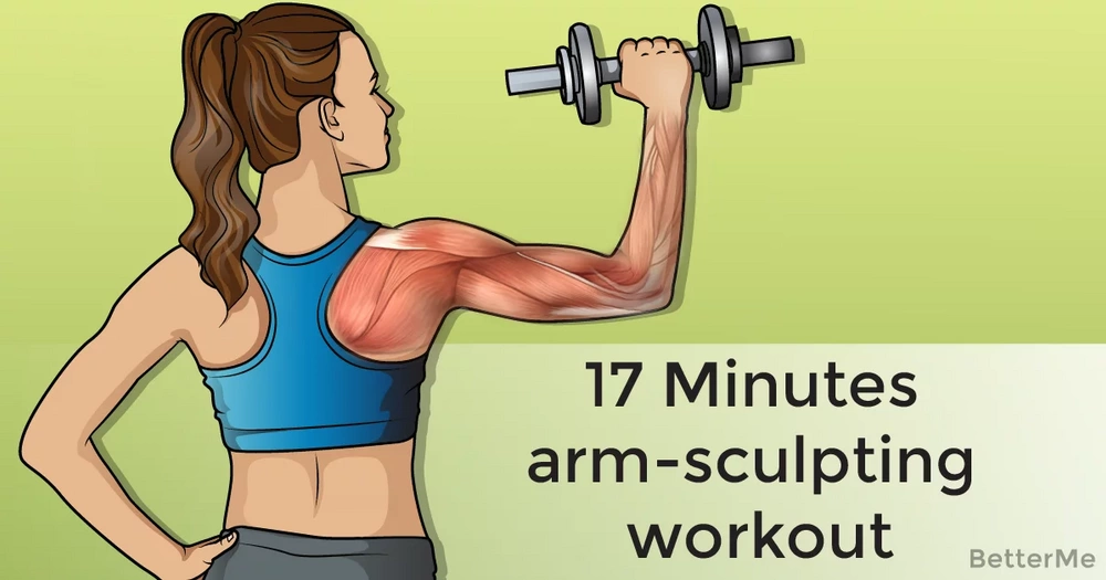 17-minute arm-sculpting workout
