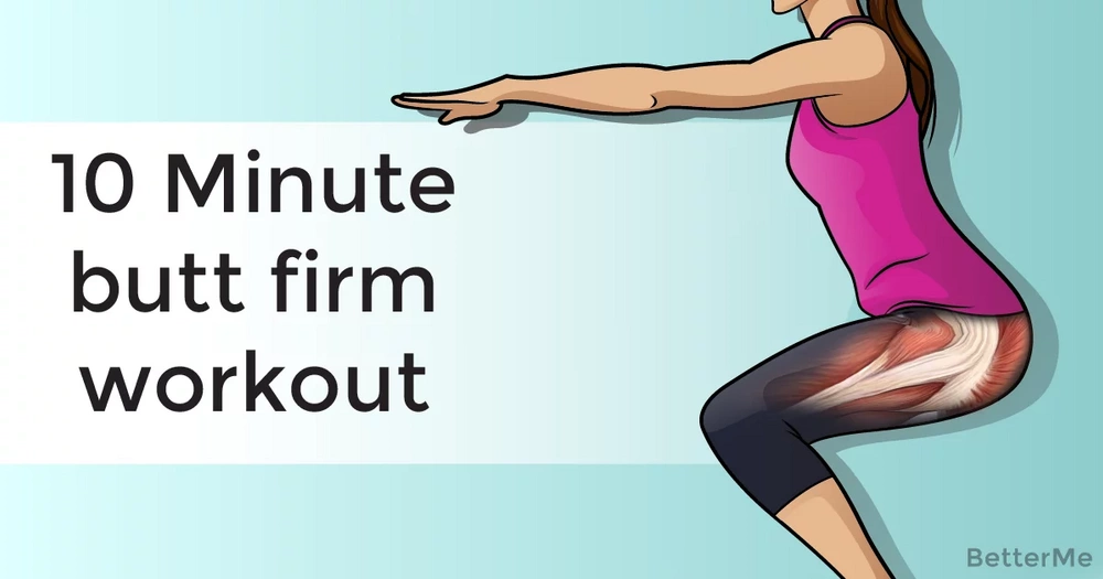 10-minute butt firm workout