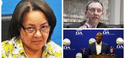 DA officially revokes Patricia de Lille's party membership