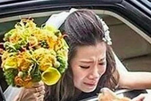 La emotiva despedida de una novia con su perro se volvió viral