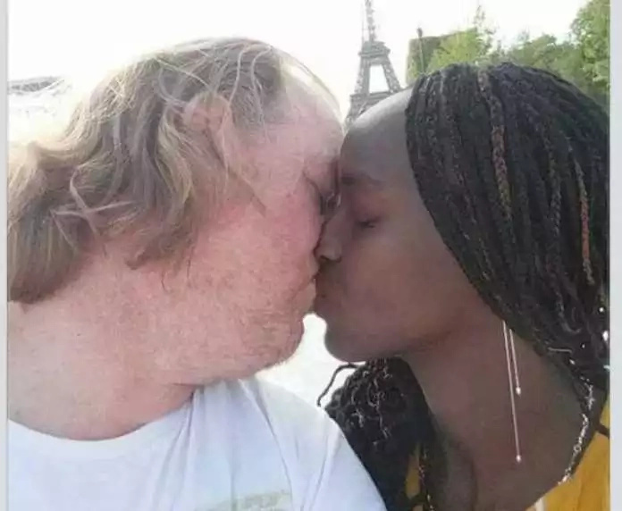 Kenyan woman shows off her seriously old sponsor, tells Kenyans to keep off