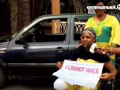 Mwanamke wa miaka 30 aliyeganda miguu miaka 7 apona baada ya kuombewa