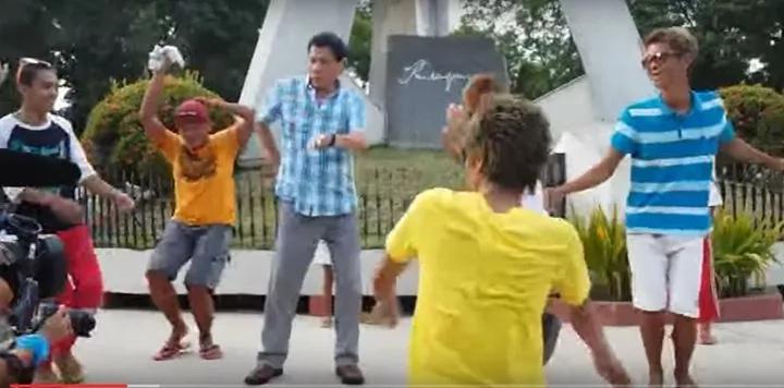 President Duterte dances #BudotDanceCraze