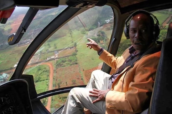 Governor Kabogo reveals his cool side, love for choppers and favorite football team
