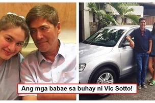 Mga babae sa buhay ni Bossing! Vic Sotto has always been surrounded by awesome girls & women