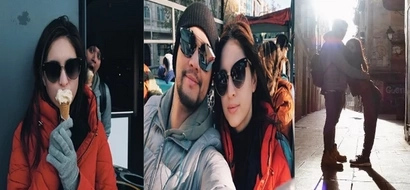 Look how lovely Coleen Garcia and Billy Crawford are in their trip to Barcelona