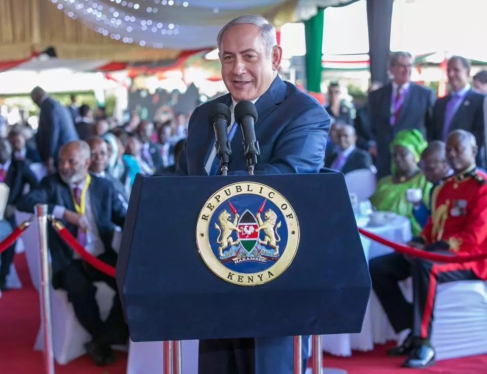 Israel Prime Minister jokes about Uhuru becoming a grandfather for the first time
