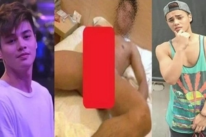 Ang tilamsik, bow! Alleged ABS-CBN rising star Ronnie Alonte sex video, photo scandal surfaces online