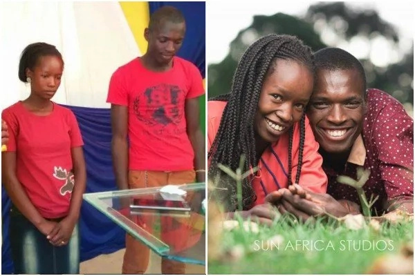 The KSh 100 wedding celebrity couple are expecting first baby (Photos)