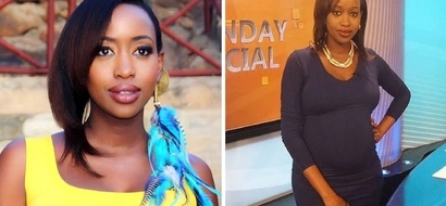 Bold Janet Mbugua goes CLOTHELESS after leaving the newsroom (photo)