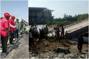 Ababu Namwamba's KSh 1.2 billion pet project in Budalangi collapses days after Uhuru's inspection (photos)
