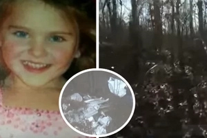 7-year-old girl walked a mile through the deep forest at night in just t-shirt and shorts. Later she thanks God for this chance to live.