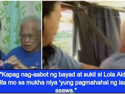 Old couple shows us what relationship goals is all about as they journey into forever in their jeepney