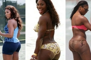 Serena Williams will show how huge her derrière (photos)