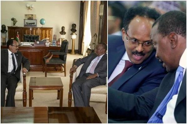 Mambo MUHIMU yaliyozungumziwa katika mkutano wa Rais Uhuru Kenyatta na Rais wa Somalia