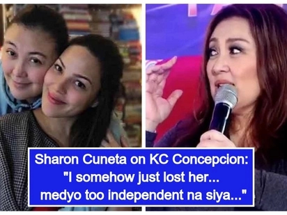 Umamin na ang mommy! Sharon Cuneta admits that she has lost her daughter KC Concepcion