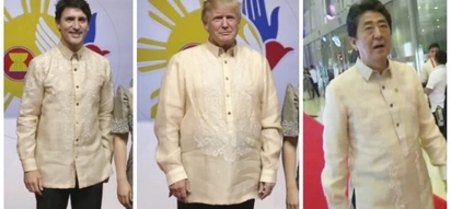 Bagay na bagay sa kanila! World Leaders proudly wear Barong Tagalog during the ASEAN Summit 2017