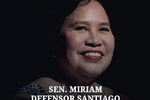 PH mourns death of Miriam Defensor-Santiago