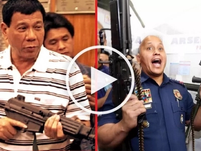 Angry Duterte defends Bato, blames notorious drug gangs for summary killings