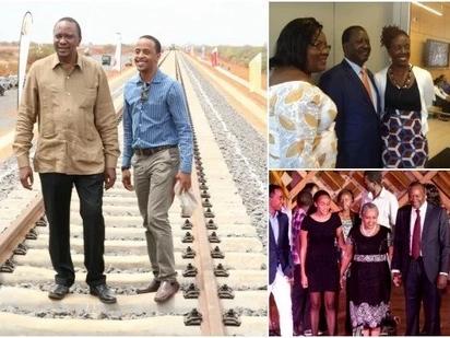 Uhuru atoa sababu ya kutohusisha watoto wake kwenye kampeni kama wale wa Raila
