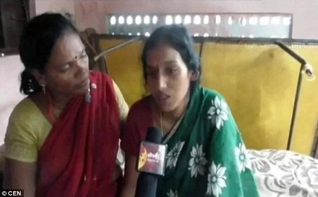 Mujer india intenta quemar vivo a bebé dentro de hija embarazada