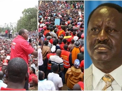 Raila finally speaks on Uhuru's multi-billion Kisumu brewery project