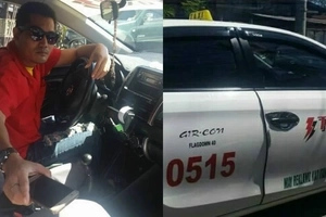 This taxi driver from Iloilo restores our faith in humanity by doing this to his passenger