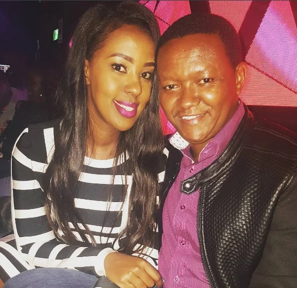 Lilian sends Alfred Mutua sweet birthday message