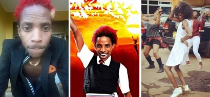 Eric Omondi jokes with the most powerful man on earth