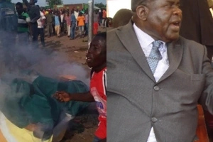 CHAOS in Homa Bay after Cyprian Awiti wins ODM primaries