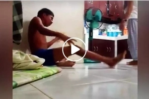 This Pinoy pretended to have been electrified...what happened next isn't what you expected!