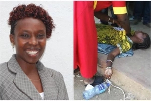 Female MCA aspirant collapses after being named nominations winner