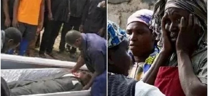 Mortuary attendants TAKE BACK CORPSE from a burial but the reason why has left MANY SURPRISED