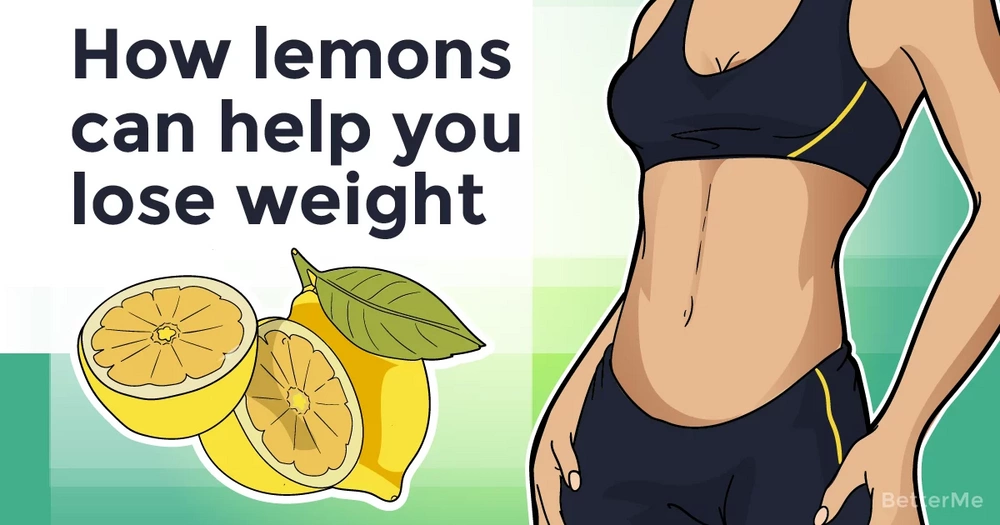 How lemons can help you lose weight