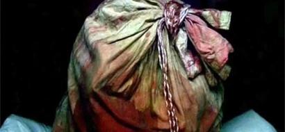 Chop-chop victim's body parts found outside Senate gate
