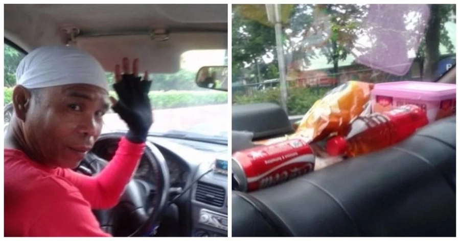 A lady passenger finds this Pinoy taxi driver suspicious, until he earned her trust with amazing treats!