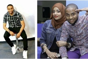 KTN presenter shows the face of his baby for the FIRST time (photos)