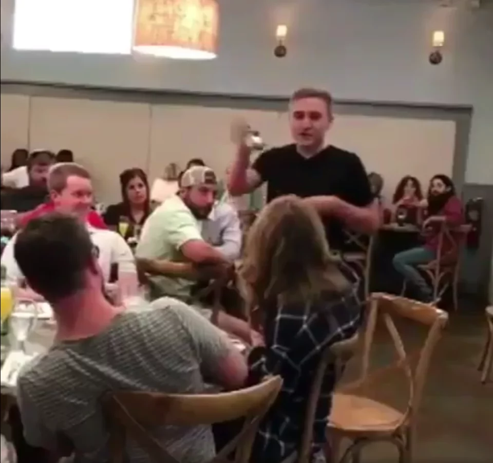 Boyfriend dumps his lover moments after staging emotional marriage proposal in a busy restaurant
