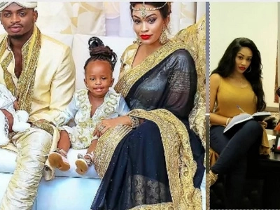 Diamond's wife, Zari, shares first ever video of their son and it's the cutest thing you'll watch today