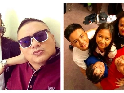Pinagpala ng todo si Andrew E! The legendary Pinoy rapper's beautiful & joyful family wows netizens!