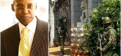 Police find high grade military rifle in NASA billionaire financier's house during raid